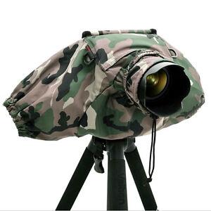 Efficient Waterproof Camera Rain Cover Coat Bag Rainproof Raincoat Against Dust Protector Cover Camera Lens Protector For Canon Nikon Without Return Digital Gear Bags