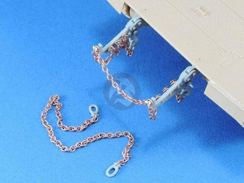 Legend 1//35 Israeli IDF AFV Towing Horn /& Recovery Chain w//Shackles Set LF1340