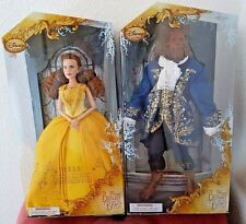 BEAUTY AND THE BEAST 2017 LIVE ACTION FILM: DETAILED BELLE AND BEAST DOLLS BNIB
