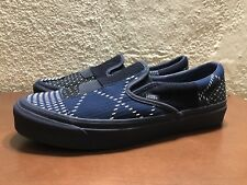 0ffe6f46fa item 2 Vans Vault OG Classic Slip On FDMTL Japan Denim Patchwork Mens US  size 9 NEW -Vans Vault OG Classic Slip On FDMTL Japan Denim Patchwork Mens  US size ...