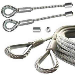 Industrial Sectional Over Head Door Lifting Cable Steel Wire Rope ...