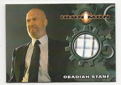 Jeff Bridges Iron Man Costume Relic Keychain Worn in the movie Iron Man! Fabric Fobs Obadiah Stane