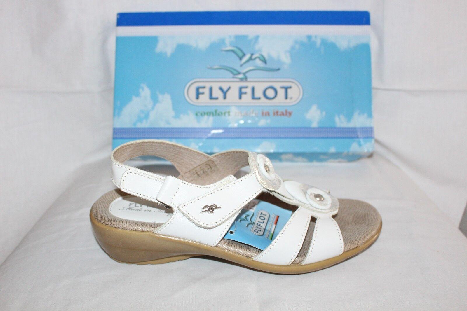 LADIES SHOES FOOTWEAR - Flyflot Sandal 36585 white