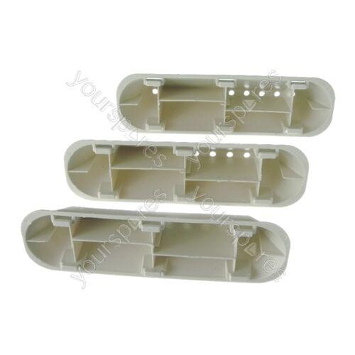 3 X INDESIT iwb6123uk LAVATRICE Drum Paddle Lifter 10 tipo di foro