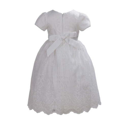 New Flower Girl Party Bridesmaid Pageant Dress Pink Ivory 2 3 4 5 6 7 Years