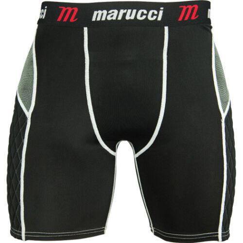 Marucci Adult Men/'s Padded Baseball Sliding Shorts MASL-W Padding Slider Short
