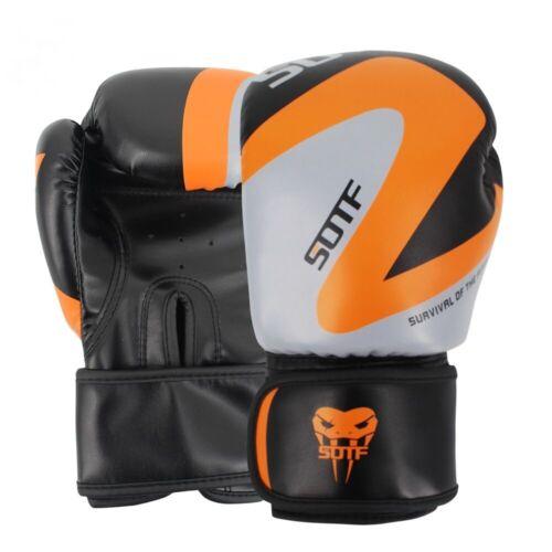 Mma Boxing Gloves Box Geometric Tiger Muay Thai Sanda Pads Fight Adults GloveUs