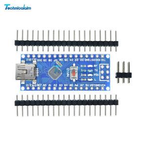 1-2-5-10-x-USB-Micro-controller-Nano-V3-0-ATmega328-5V-16M-CH340G-For-Arduino