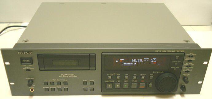 SONY PCM-R500 Digital Audio Tape DAT DAT DAT Player Recorder Deck 4-Motor DD SBM 0012 DH aa1001