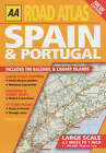 Road Atlas Spain and Portugal by AA Publishing (Paperback, 2002)