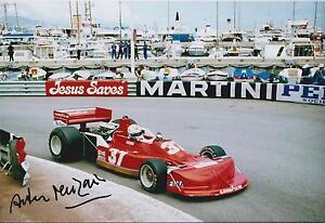 Arturo-MERZARIO-SIGNED-FORD-Monaco-Grand-PRIX-GP-12x8-Photo-AFTAL-COA-Autograph