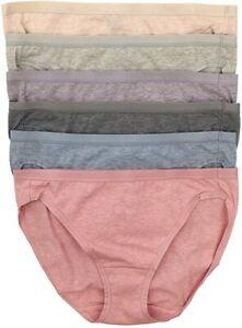 Felina Ladies/' Organic Cotton Stretch Bikini Panty 6 pack VARIETY C42 SALE