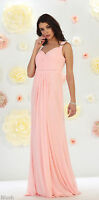 Bridesmaids Dress Prom Simple Evening Maid Of Honor Semi Formal Dance Gown Party
