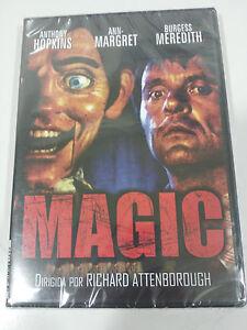 Magic-DVD-Castellano-English-Horror-Anthony-Hopkins-Attenborough-Nuovo-Am
