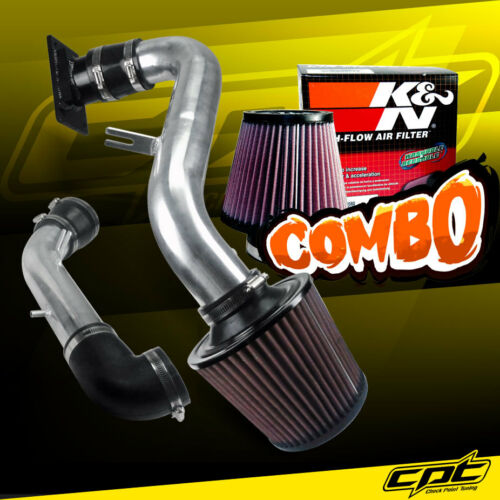00-05 Mitsubishi Eclipse 2.4L 4cyl Polish Cold Air Intake K/&N Air Filter
