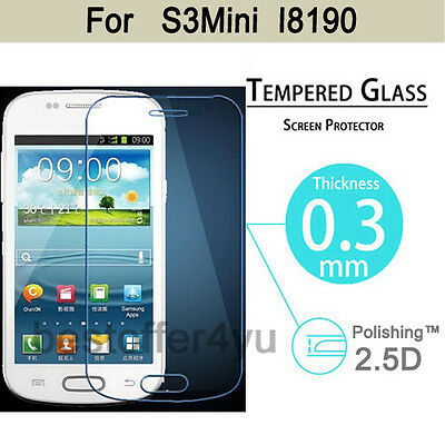 Premium Tempered Glass Film Screen Protector For Samsung Galaxy S3 mini i8190