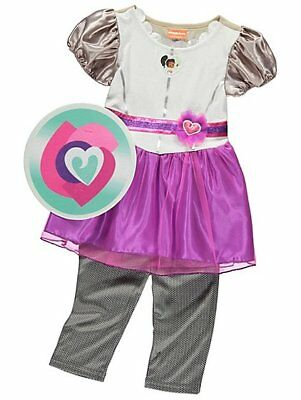 Girls Nella The Princess Knight TV Cartoon Book Day Fancy Dress Costume Outfit