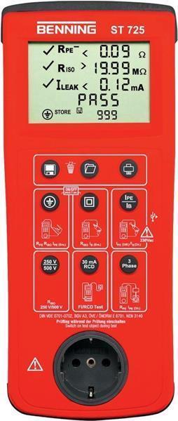 Gerätetester ST ST ST 725 Benning | Offizielle Webseite  | Überlegene Qualität  | Verwendet in der Haltbarkeit  | Authentische Garantie  f28fe2