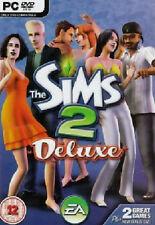PC The SIMS 2 DELUXE Hauptspiel + Nightlife Erweiterungspack 2 PC Spiele NEU OV