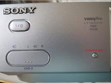 Sony SLV-SE810G VCR