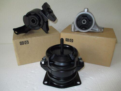 FITS: 2003-2006 ACURA MDX . 3.5L, V6, AT, AWD SET OF 3 ENGINE MOUNTS