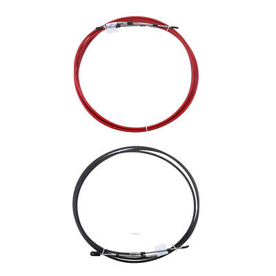 Red//Black 23Ft 2x Throttle Cable for Yamaha Outboard Boat Control Lever