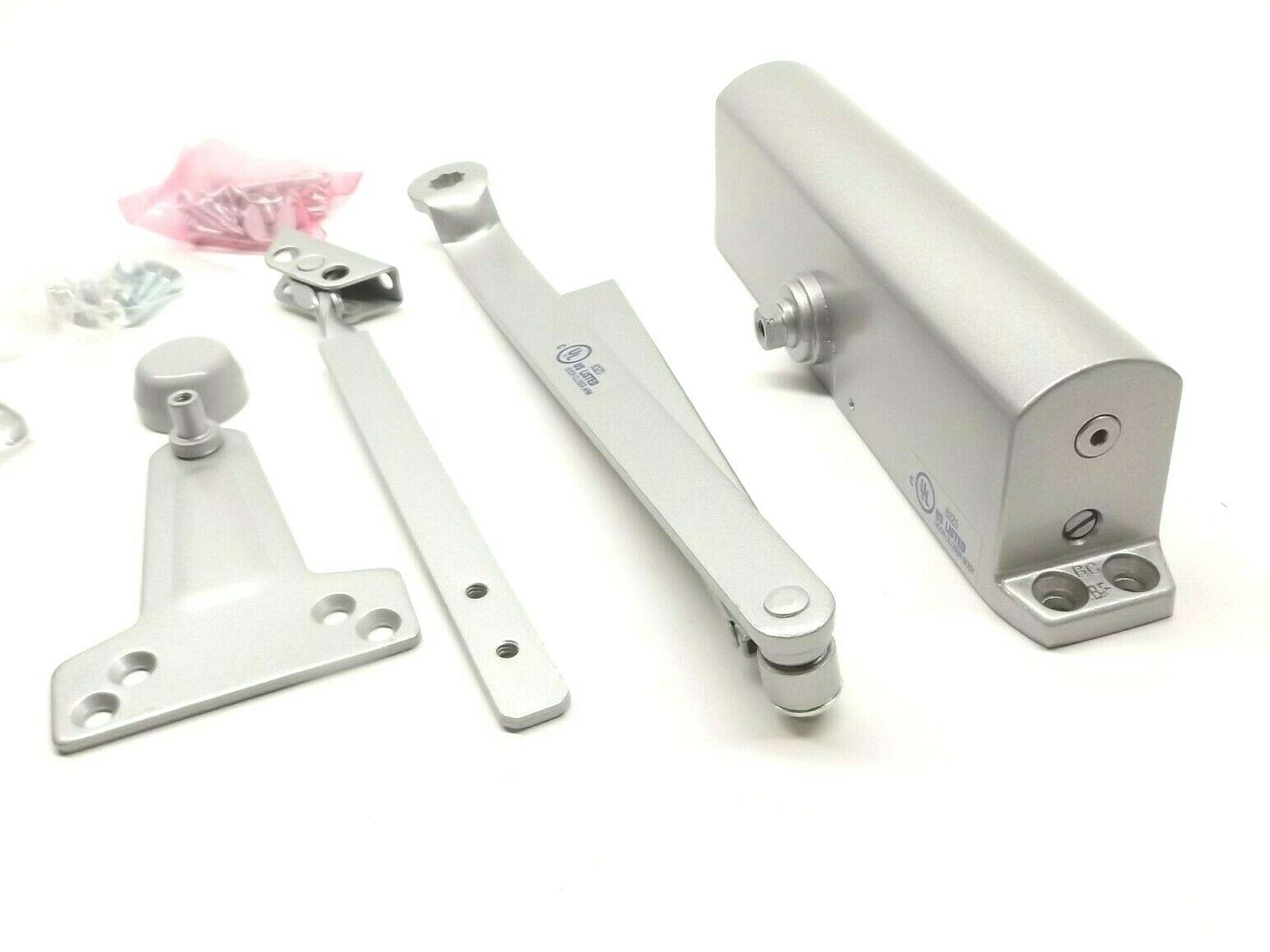 YALE 1101BF-689 SURFACE MOUNTED COMMERCIAL DOOR CLOSER ALUMINUM FINISH