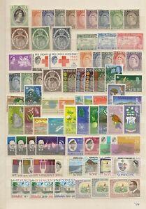 100% Vrai St Vincent De Vastes Qeii Collection (2000) Sur (15) Double Face Stockpages-afficher Le Titre D'origine