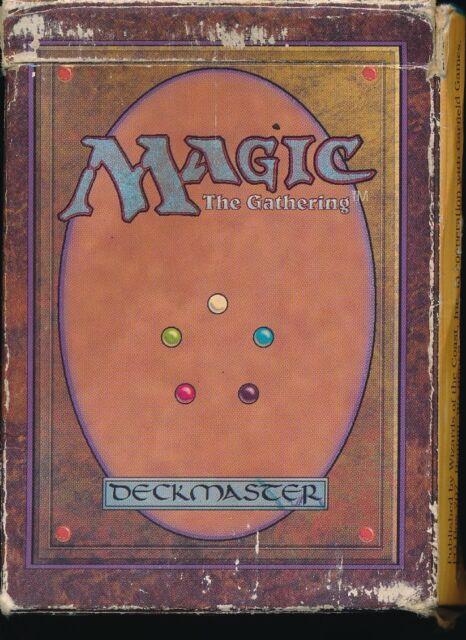 MTG ALPHA STARTER DECK | EMPTY BOX | MAGIC : THE GATHERING