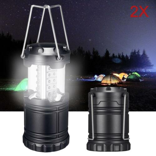 1-10X Ultra Bright Portable LED Lantern Tent Travel Hiking Camping Night Lamp BT