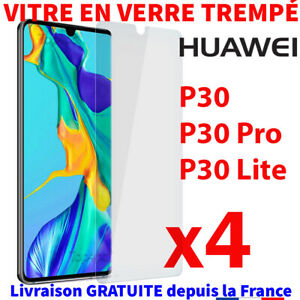 PROTECTION-HUAWEI-P30-PRO-LITE-VERRE-TREMPE-FILM-TRANSPARENT-VITRE-GLASS-SCREEN