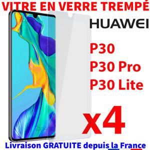 PROTECTION-HUAWEI-P30-PRO-LITE-VERRE-TREMPE-FILM-TRANSPARENT-VITRE-GLASS-SCREEN