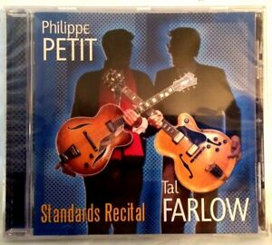 Sealed-TAL-FARLOW-amp-PHILIPPE-PETIT-CD-Standards-Recital-Elabeth-1993