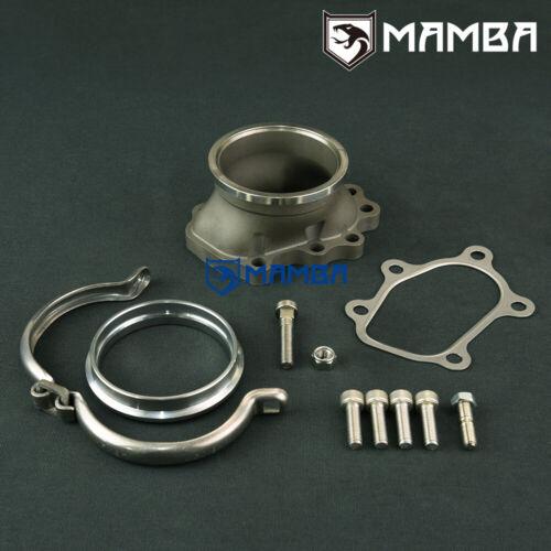 "MAMBA 5 bolt to 3/"" V-band Dump Pipe Flange For Nissan GT-R RB26DETT TB25 GT28R"