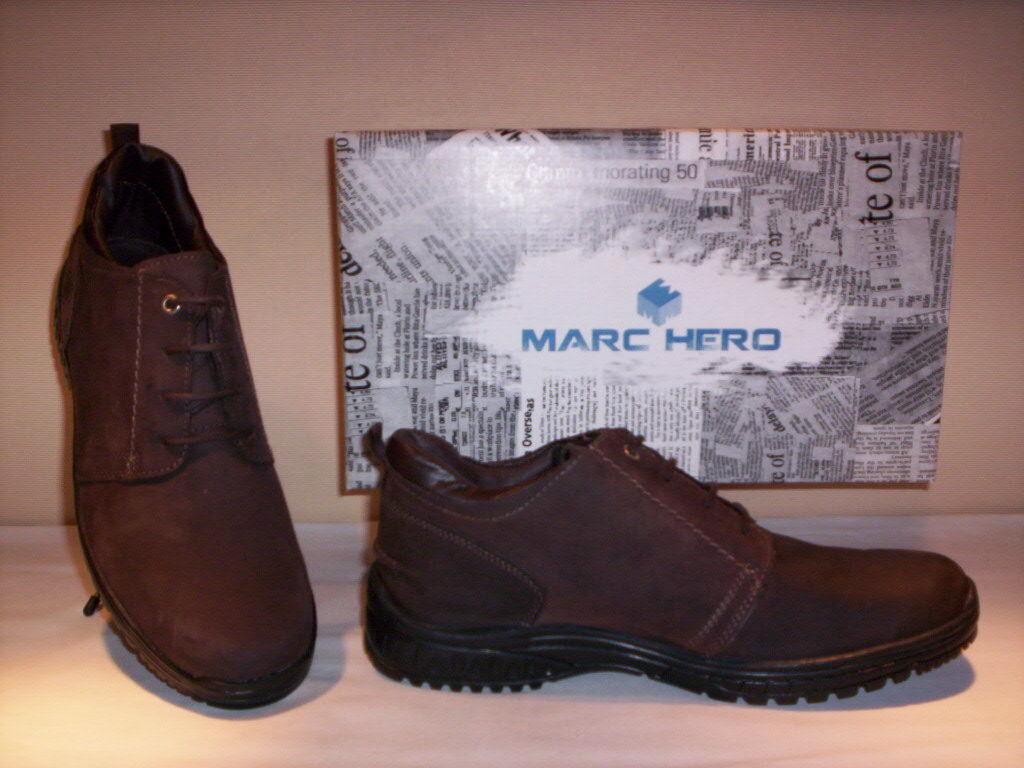 Scarpe alte polacchini scarponcini Marc Hero uomo uomo uomo shoes casual pelle 39 40 41 42 cb1ab1
