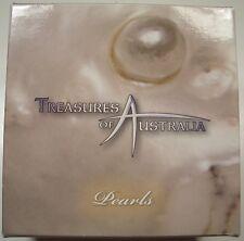 """2011 TREASURES OF AUSTRALIA """"PEARLS"""" 1 oz. SILVER COIN BOX/COA LQQK"""