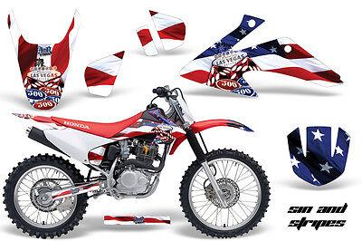 Affidabile Dirt Bike Kit Grafica Decalcomania Wrap Per Honda Crf150 Crf230f 2008-2014 Usa Completa In Specifiche
