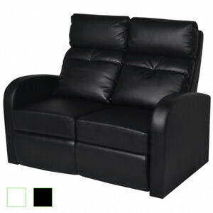home theater 2 seat recliner artificial leather lounge movie seats
