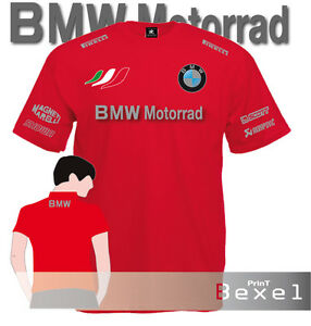 T-Shirt-Printed-Bmw-Motorrad-2-Motobike-Racing-Motorcycle-Maglia-Team-Cotone-5cl