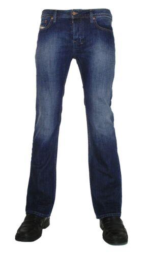 """analogamente a 74w blu colori attenuati 32//32 DIESEL /""""Boot Cut/"""" jeans ZATINY 0855l D"""