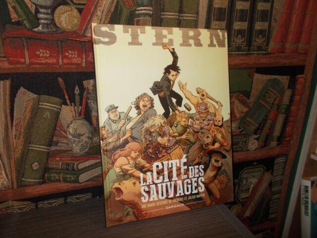 Stern - La Cité des Sauvages - Ex Signé + Ex libris signé - Maffre - BD Aventure