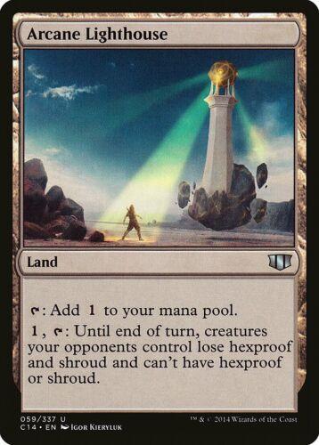 Arcane Lighthouse Commander 2014 PLD Land Uncommon MAGIC MTG CARD ABUGames