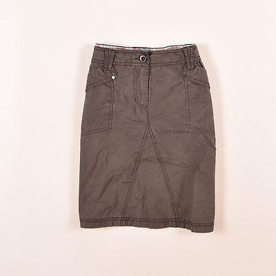 esprit damen rock skirt kleid gr.38 braun, 52098 | ebay