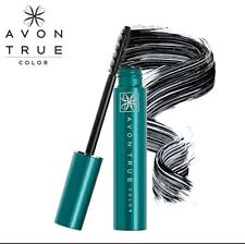 Avon True Color SUPER SHOCK Mascara ~Black ~WATERPROOF Big Max Thick Lashes NEW