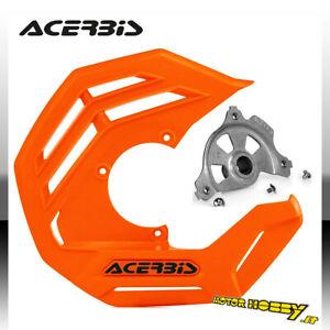 COPRIDISCO ACERBIS X-FUTURE KTM  SX SXF EXC EXCF ARANCIO + KIT MONTAGGIO