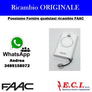 Telecomando trasmettitore radiocomando originale FAAC XT2 433 SLH LR NERO