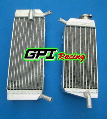 Aluminum Radiator /&hose Honda CRF 450X CRF450X 2005-2015 2014 2013 2012 11 10 16