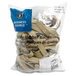 Business-Source-15726-Rubber-Bands-Size-105-1-lb-Bag-5-x-5-8-Natural-Crepe
