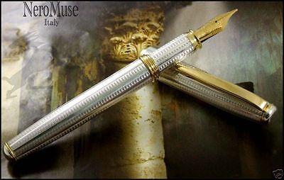 Promotion POMPEII  Silver Fountain Pen Waterman Cartridge Original Model
