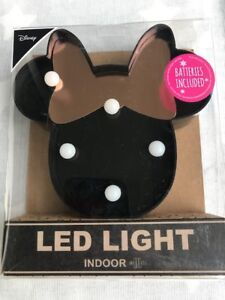 Minnie Mouse Minni Maus LED Lampe inkl. Batterie absolut niedlich ...
